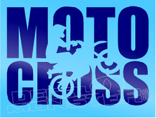 Enduro MotoCross Motorcycle Decal Sticker DM