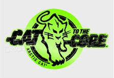Arctic Cat to the Core Sled Decal Sticker