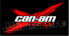 CAN-AM Team UTV Decal Sticker