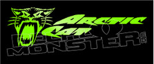 Arctic Cat Brand Logo 3 Sled Decal Sticker