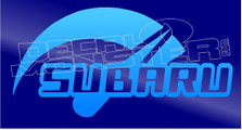 Subaru Crank it Up Tach Decal Sticker