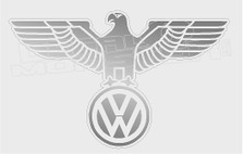 Wolkswagen German Eagle Decal Sticker