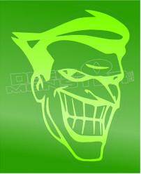 Joker Silhouette 3 Decal Sticker