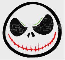 Joker Jack Skeleton Silhouette 4 Decal Sticker