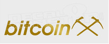 Mining Bitcoin Decal Sticker