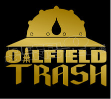 Oilfield Trash 16 Decal Sticker