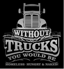 Without Trucks you Would Be Homeless Decal Sticker