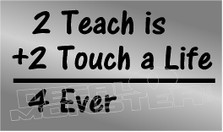 Teachers Motivation Decal Sticker