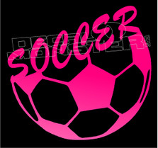 Soccer Lifestyle 1 Decal Sticker