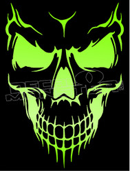 Mean Skull9 Decal Sticker
