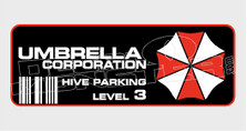 Umbrella Corporation Brand Logo 2 Resident Evil Decal Sticker
