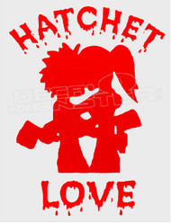 Hatchet Love ICP Silhouette 3 Music Decal Sticker