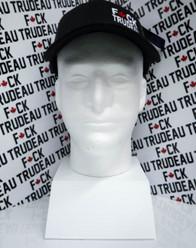 Fuck Trudeau Salute Mesh Back Snap Back Premium Cool Hat EMB1