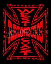 West Coast Rednecks Decal Sticker