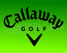 Callaway Golf 1 Decal Sticker
