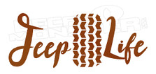Jeep Life Decal Sticker