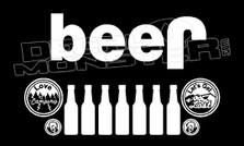 Jeep Beer Deal Sticker