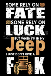 Jeep Don't Give a Fuck Deal Sticker