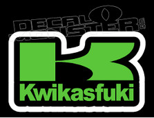 Kawasaki Kwikasfuki Decal Sticker