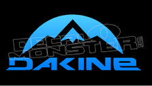 Dakine Moutain Style 2 Decal Sticker