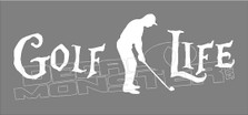 Golf Life Decal Sticker