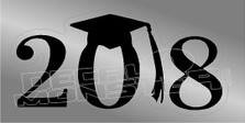 Graduation 2018 Decal Sticker