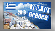 2018 Trip to Greece Decal Sticker