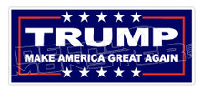 Trump Make America Great Again Campaign Decal Sticker