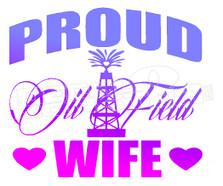 Oilfield Wife 2 Decal Sticker