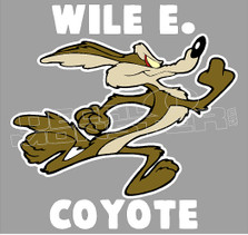 Wille Coyote 1 Decal Sticker