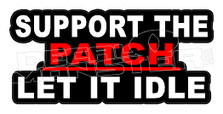 Support the Patch Decal Sticker DM