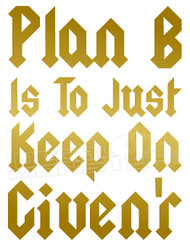 Motivation Keep on Given'r Decal Sticker DM