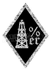 Oilfield 1 Percenter Decal Sticker DM
