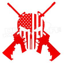 American Infidel Punisher 2 Decal Sticker DM