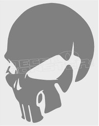 No Fear Skull Decal8 Sticker DM
