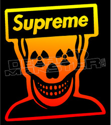 Supreme Radioactive Decal Sticker DM
