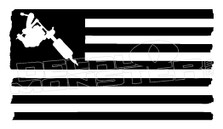 American Tattoo Artist Decal Sticker DM