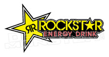 Rockstar Energy Drink Decal Sticker DM