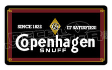 Copenhagen Snuff Tin 2 Decal Sticker DM