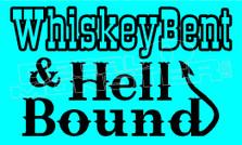 Whiskeybent Hell Bound Alcohol Decal Sticker DM