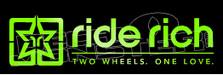 Ride Rich Logo Automotive Decal Sticker DM
