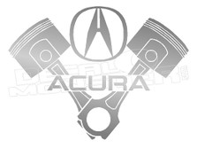 Acura Automotive Decal Sticker DM