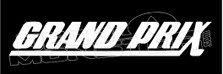 Grand Prix Logo Decal Sticker DM