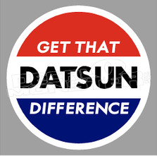 Get that Datsun Difference JDM Decal Sticker DM