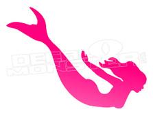 Mermaid Silhouette 2 Decal Sticker DM