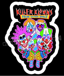 Killer Clowns from outer space Decal Sticker DM