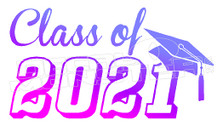 Class of 2021 Decal Sticker DM