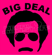Mr.big deal Ron Burgundy Will Ferrell decal sticker dm