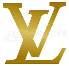 Louis Vuitton Logo Decal Sticker DM