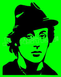 Rocky Sylvester Stallone Silhouette 1 Decal Sticker DM